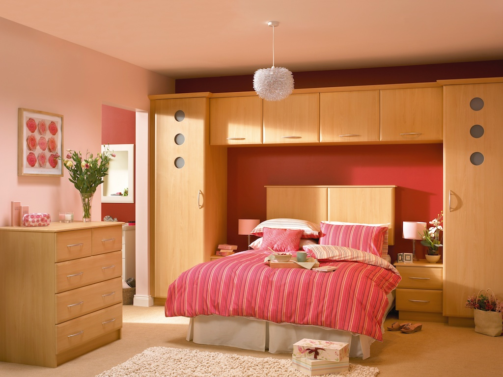 Bedroom in KDC39 style shown in Beech