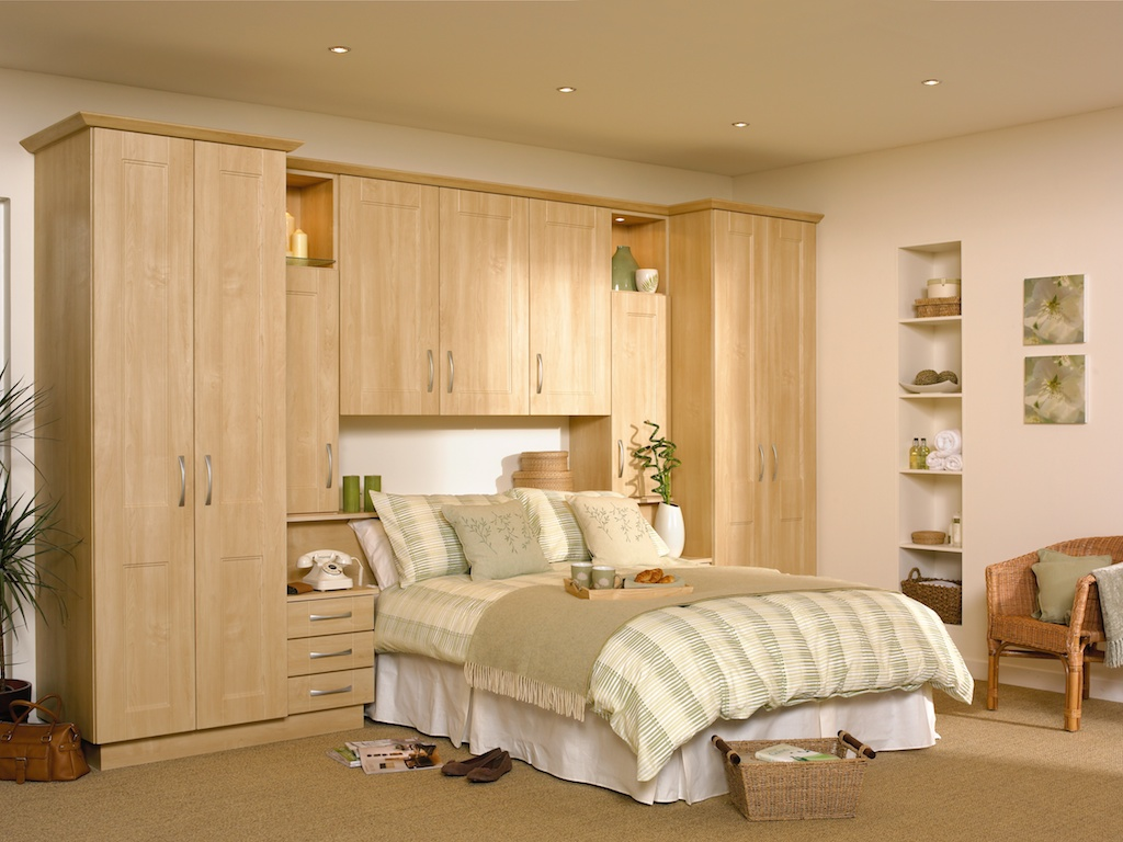 Bedroom in KDC31shown in Ontario maple
