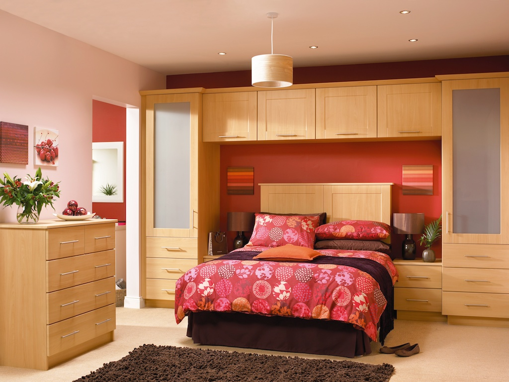Bedroom in KDC10 style shown in Beech