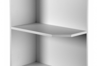 Gloss plain base open end unit 720x570x300