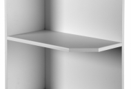Gloss quad wall end unit 900 H x300 D x 300 W
