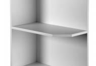 Wall quad open end unit 900mm H x 300mm D x 300mm W